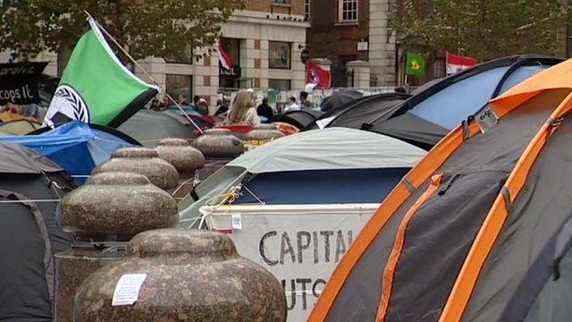 Anti-capitalist protesters