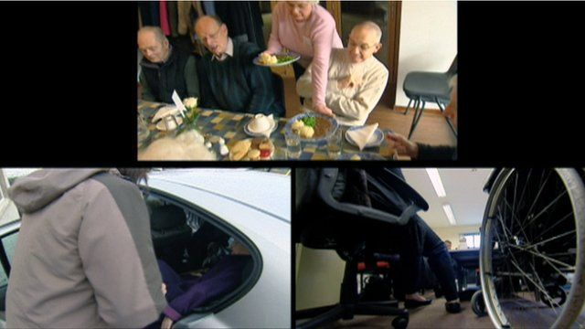 Charitable services affected include those providing meals for the elderly, support and transport