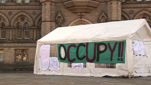 Tents in Bradford