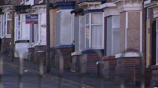 Street in Rotherham