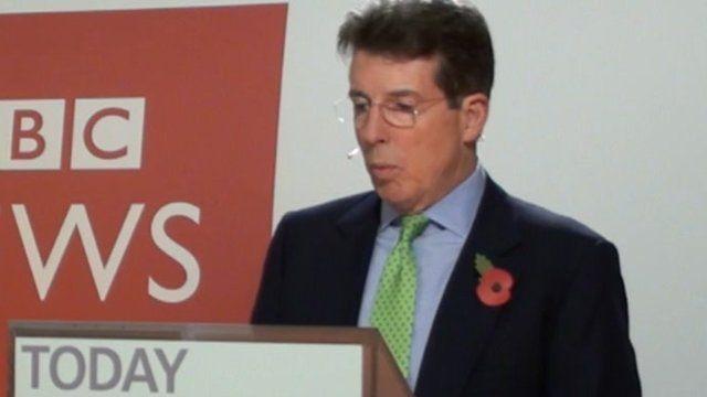 Bob Diamond, chief executive of Barclays