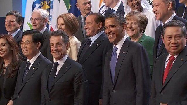G20 leaders