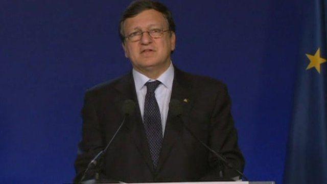 President of the European Commission, Jose Manuel Barroso