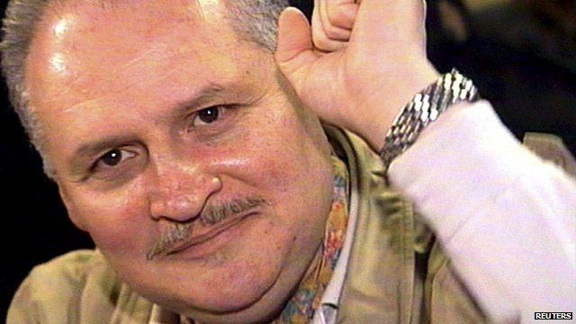 Ilich Ramirez Sanchez, better known as Carlos the Jackal, in 2000