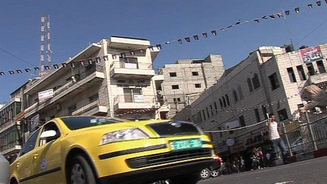 Taxi in Palestine