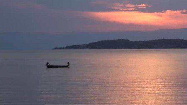 Lake Tanganyika, the longest freshwater lake in the world