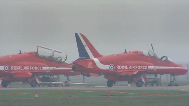 RAF Scampton in Lincolnshire