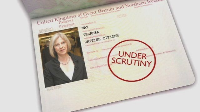Theresa May passport gfx