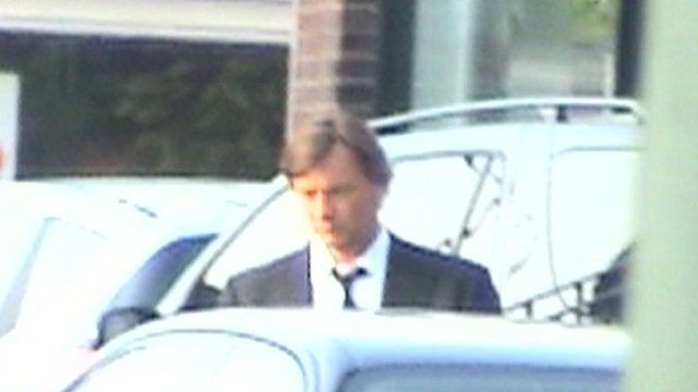Private detective's footage of Richard Madeley