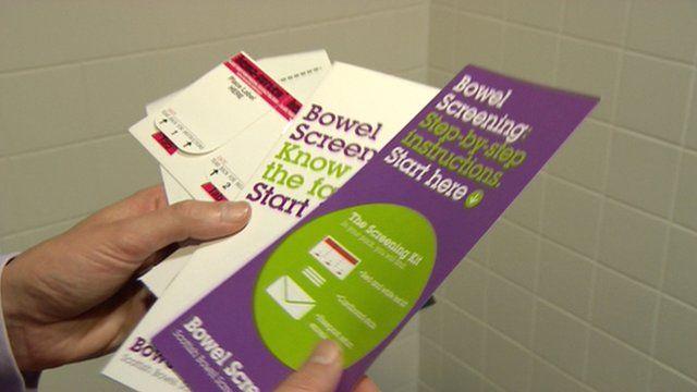 Bowel screening information leaflets