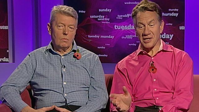 Alan Johnson and Michael Portillo