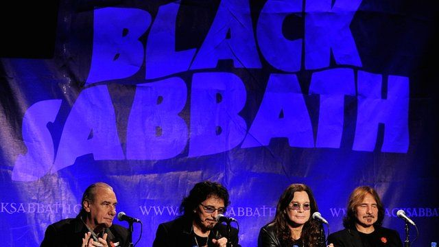 Black Sabbath news conference