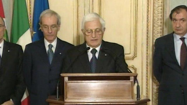 Spokesman at the Italian presidential palace