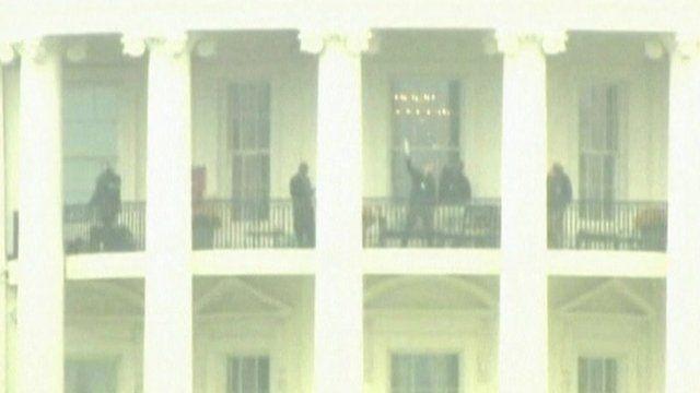 Secret Service search White House balcony