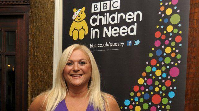 Vanessa Feltz for BBC Children in Need