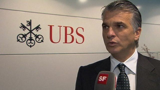 UBS chief executive Sergio Ermotti