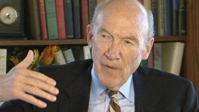 Former US Senator Alan Simpson