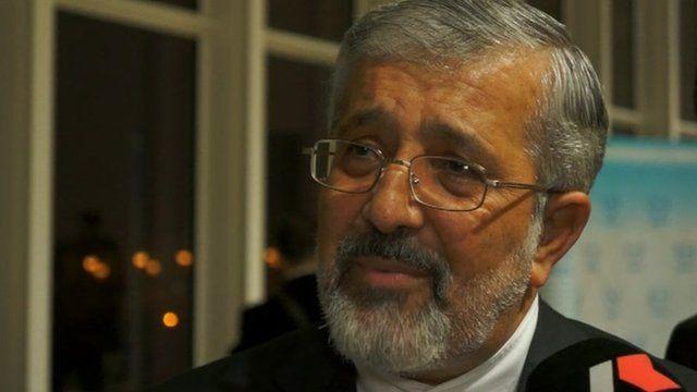 Ali Ashgar Soltanieh, Iranian envoy to the IAEA