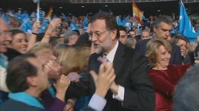 Last-minute campaigning before Spain's election on Sunday