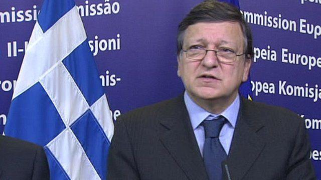 European Commissioner Jose Manuel Barroso