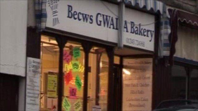 Becws Gwalia, Llangefni