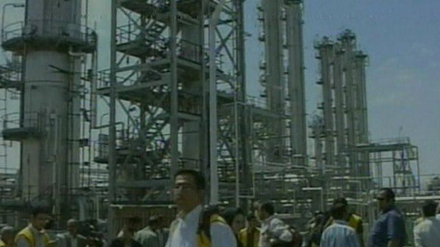 Nuclear power plant in Iran