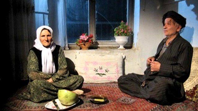 Scene from a Kurdish film