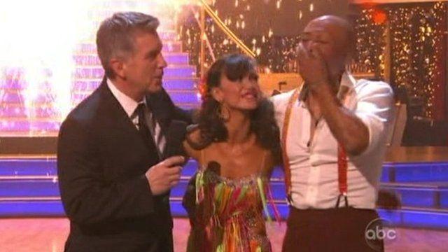 "JR Martinez winning ""Dancing with the Stars"""