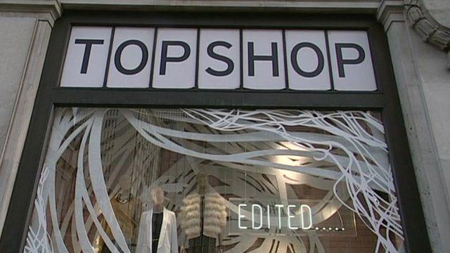 Topshop window