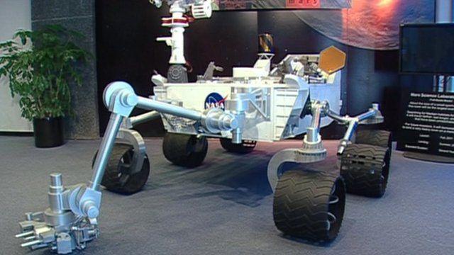 Curiosity rover