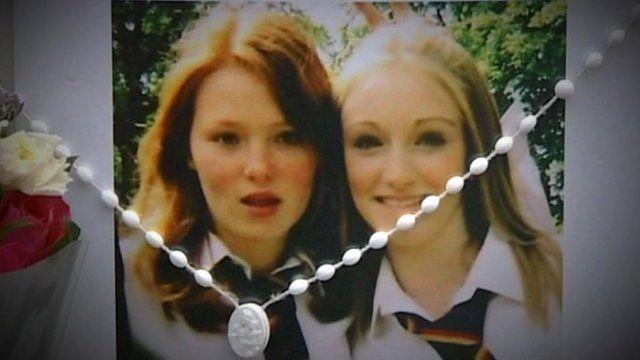 Olivia Bazlinton and Charlotte Thompson