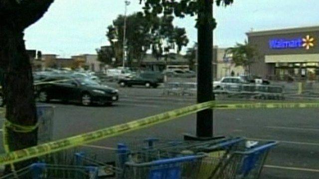 Walmart carpark