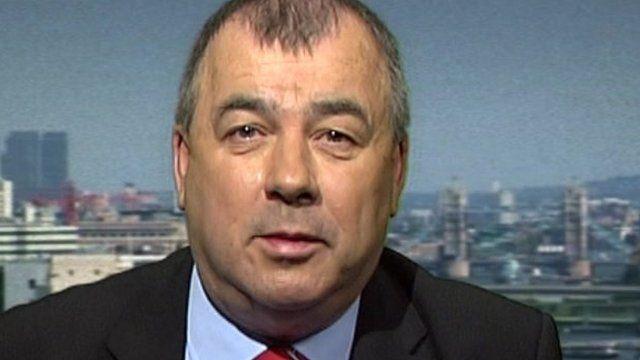 TUC general secretary Brendan Barber