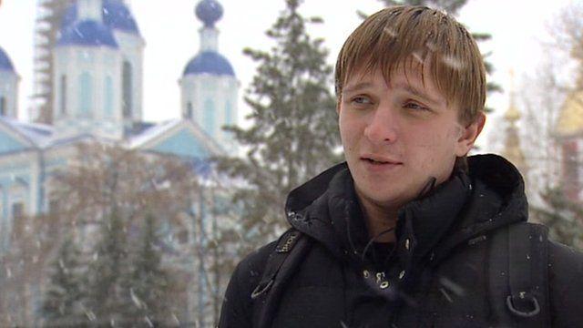 Yevgeny Arkhangelsky, student