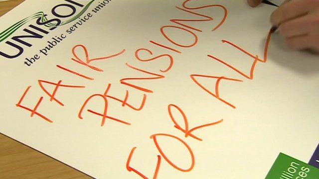 Fair Pensions For All sign