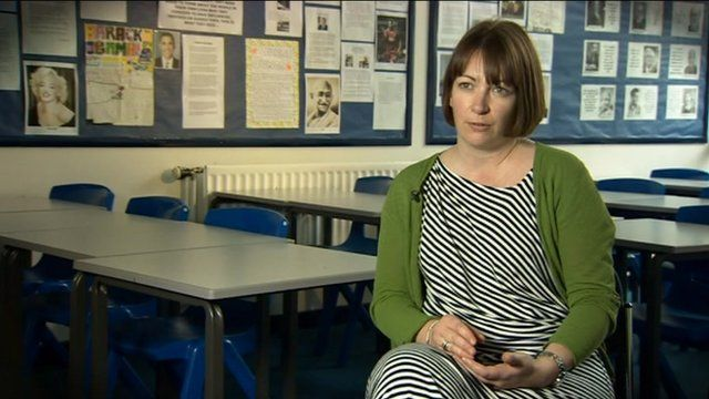 Teacher Niamh Sweeney