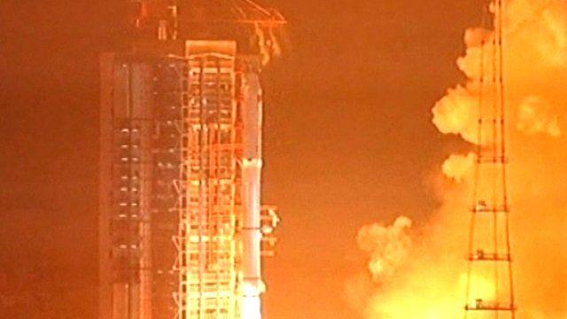 Chinese satellite launch