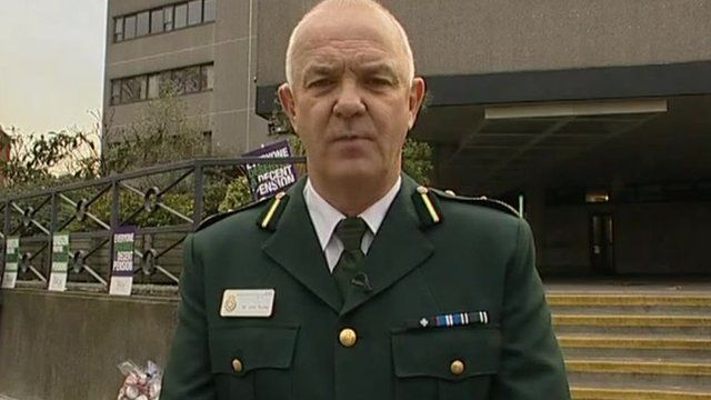 London's Assistant Chief Ambulance Officer John Pooley