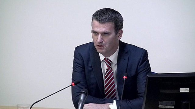 Lawyer Mark Lewis gives evidence to the Leveson Inquiry into media ethics.