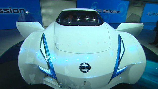 Media player Electric concept car