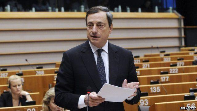 President of the European Central Bank, Mario Draghi