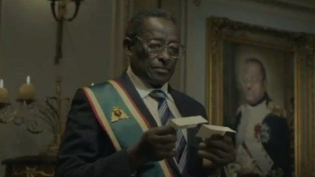Mugabe look-a-like in advert