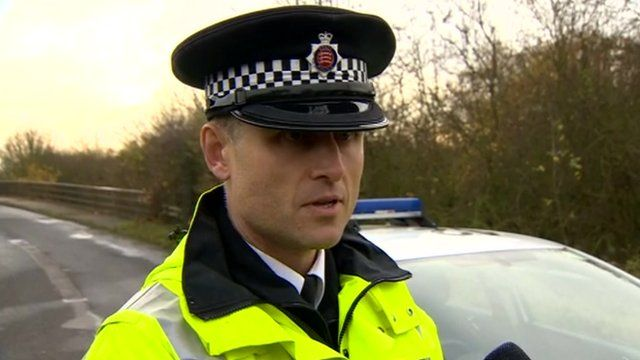 Chief Inspector Nick Morris from Essex Police