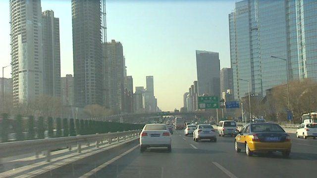 A highway in Beijing