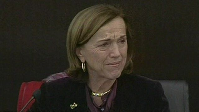 Elsa Fornero, Italian Minister of Labour and Welfare