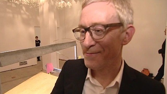 Martin Boyce, who has won the Turner Prize