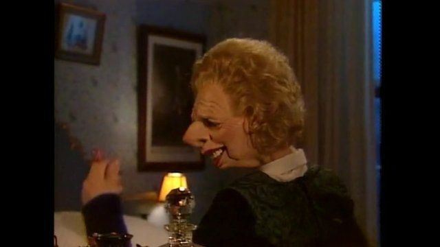 A scene from Spitting Image