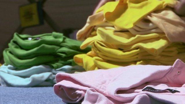 Counterfeit clothes