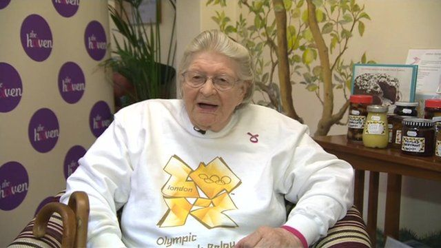 84 year-old Moira Starkey has been picked for the Olympic Torch Relay.