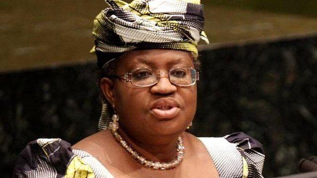 Ngozi Okonjo-Iweala, finance minister, Nigeria